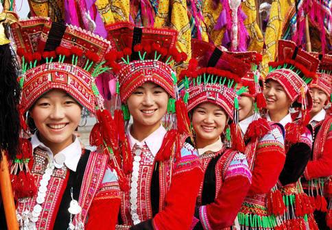 基诺族姑娘舞